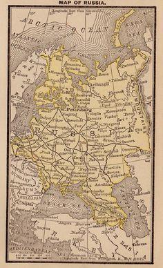 Die 7 besten Bilder von Russia Map | Russia map, Map vector und Coloring