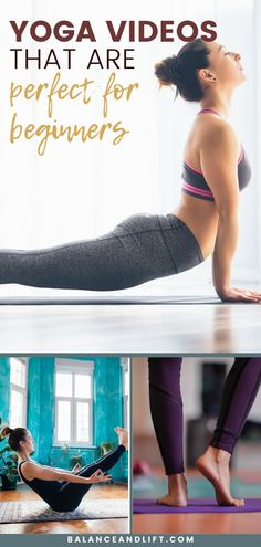 Want to start yoga but not sure where to start? Here are 9 yoga videos that are perfect for beginners. yoga poses for beginners YOGA POSES FOR BEGINNERS : PHOTO / CONTENTS  FROM  IN.PINTEREST.COM #HEALTH #EDUCRATSWEB