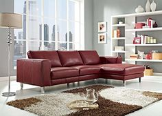 Sofa BedSleeper Sofa  Truffle Sectional The Simmons Upholstery Albany Truffle Sectional gives your living room an exceptionally fortable and stylish piece of furniture