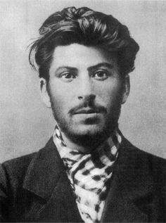 1902: Young Stalin.......Stalin looks some cute hipster kid. It's true to never judge a book by its cover I guess.....where do I pin this?