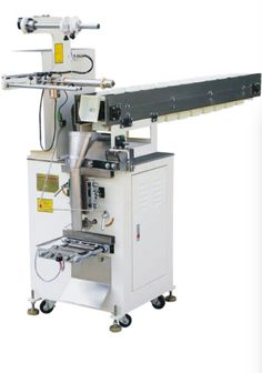 #BackSealManualDischarge #AutomaticPackingMachine ; The machine is able to automatically complete measuring, filling, counting and printing. Suitable for automatic packing of toys, soft candies and soft granules. #AvenueEquipments