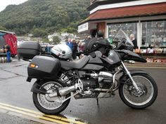 BMW 1150 GS in Wales