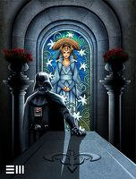 Darth Vader Visits the Tomb of Padme by ~Erik-Maell on deviantART