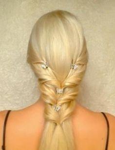 wow...nice princess style hairdo