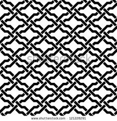 Islamic seamless pattern. Vector abstract background. by New Line, via ShutterStock