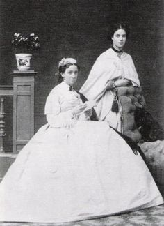 Marie Feodorovna with her mother Queen Louise of Denmark