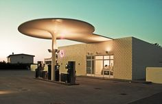 Gas Station by Arne Jacobsen, 1937