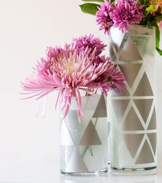 Geometric Vase - Inspiration DIY