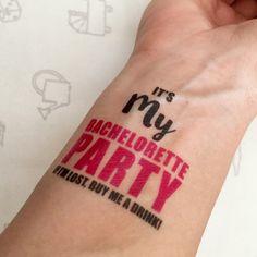 Bachelorette tattoos!!