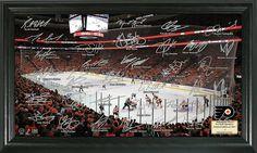 AAA Sports Memorabilia LLC - Philadelphia Flyers Signature Rink, $49.95 (http://www.aaasportsmemorabilia.com/nhl/philadelphia-flyers/philadelphia-flyers-signature-rink/)