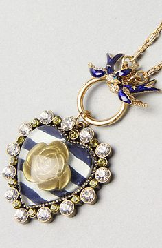 would love this betsey johnson necklace.