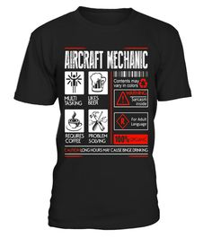 """# Aircraft Mechanic T-Shirt .  Special Offer, not available in shops      Comes in a variety of styles and colours      Buy yours now before it is too late!      Secured payment via Visa / Mastercard / Amex / PayPal      How to place an order            Choose the model from the drop-down menu      Click on """"Buy it now""""      Choose the size and the quantity      Add your delivery address and bank details      And that's it!      Tags: Aircraft Mechanic, Aircraft Mechanic t-shirt"""