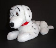"Disney Store 101 Dalmatians Perdy Plush Dog 15"" WITH TAG #Disney"