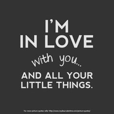 Really sweet love quote