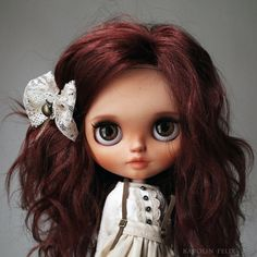Custom Blythe doll by KarolinFelix OOAK Art by NDsDazzlingDollys