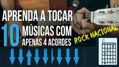APRENDA 10 MÚSICAS COM APENAS 4 ACORDES (ROCK NACIONAL)