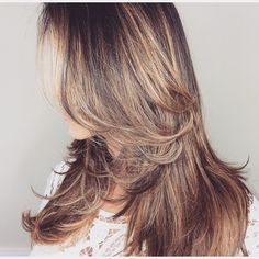 This hair thou...Perfect! ❤️  #hair #balayage #carmel #layers #perfection