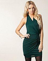 Clay Ydimur Halter Dress - Vero Moda - Teal - Feestjurken - Kleding - NELLY.COM