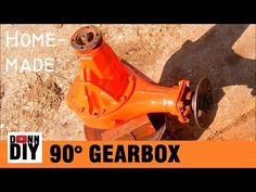 Homemade 90 Degree Gearbox - YouTube