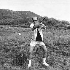Hunter S. Thompson's daily routine was the height of dissolution
