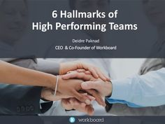 High performing teams aren't just a collection of strong individual performers. They don't leave great performance to luck or personality, they design for succ… Improve Communication, Teamwork Quotes, Employee Engagement, Great Team, Co Founder, Workplace, Motivation, Change, Patterns