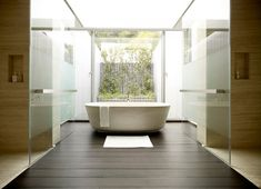 Modern Minimalist House Design Bathtub Ideas, Designs, Photos, Pictures, Images and more. Get ideas for bathtub, design, House designs, minimalist, modern.