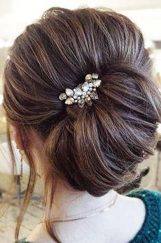 Bridal Hairstyles : 30 Bridesmaid Updos Elegant And Chic Hairstyles See more: www.weddingforwa