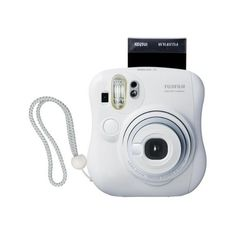 Fujifilm Instax MINI 25 Instant Film Camera (White) (€69) ❤ liked on Polyvore featuring fillers, camera, accessories, electronics, tech, backgrounds and magazine