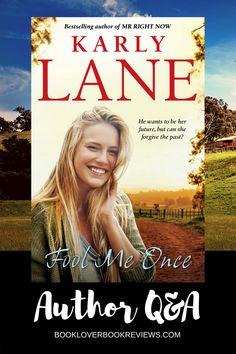 We welcomed bestselling author Karly Lane (The Wrong Callahan, Mr Right Now) to discuss the release of her enticing new rural romance Fool Me Once, and the importance of women in farming.  #romance #country #farming #women #novels #reading #books