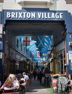 Brixton Village Market, now I remember when it was plain old Brixton Market. London 2016, London Life, Brixton Market, Places To Travel, Places To Visit, Freedom Travel, London Market, Things To Do In London, London Restaurants