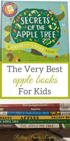 The best apple books for kids for toddlers, preschoolers, and primary students. The recommended books includes fiction, non-fiction, and interactive titles. Apple Activities, Autumn Activities, Math Activities, Toddler Activities, Toddler Books, Toddler Fun, Toddler Preschool, Childrens Books, Preschool Books