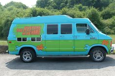 Scooby Doo...where are you?!!  LOL! The Mystery Machine is recreated for One Direction.