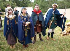 Костюмы балтских племен латгалов и земгалов 11 века