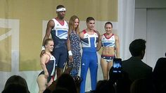 Feel a bit sorry for Jess Ennis, fancy making her stand there in her pants!
