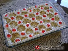 Εκμέκ τέλειο #sintagespareas Tray, Cooking Recipes, Desserts, Tailgate Desserts, Deserts, Chef Recipes, Trays, Postres, Dessert