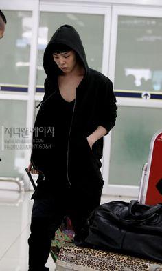 G-Dragon ♡ #BIGBANG - AIRPORT FASHION