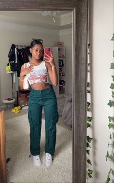 Cute Swag Outfits, Dope Outfits, Urban Outfits, Stylish Outfits, Girl Outfits, Fashion Outfits, Black Girl Fashion, Tomboy Fashion, Streetwear Fashion