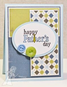 Happy Father's Day by karengiron - Cards and Paper Crafts at Splitcoaststampers