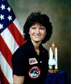 On June 1983 Dr. Sally Ride became the first American woman to fly in space. Her accomplishments came to symbolize women's achievements in an all male-dominated fields and overnight she became one of the most famous women in American History. The fi Iconic Women, Famous Women, Great Women, Amazing Women, Women In American History, Brave, Badass Women, Portraits, Powerful Women