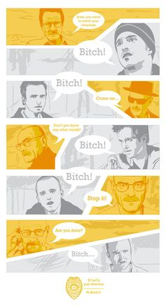 Breaking Bad - HAHA excuse the language, but this is SO TRUE!