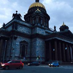 Saint petersburg  Russia Isaacs church