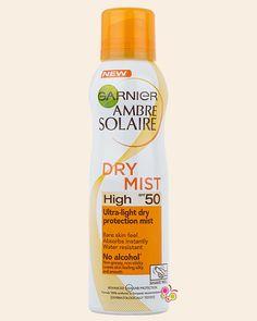 GARNIER Ambre Solaire Dry Mist Yağsız Güneş Koruyucu Sprey SPF 50 200 ml