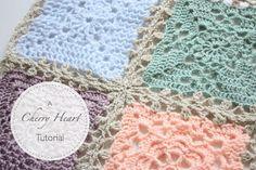 Joining pattern for Sampler Blanket Lacy Join (written pattern)