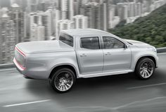Nieuwe pick-up van Mercedes voorafgegaan door Concept X-Klasse