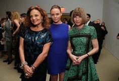 Pin for Later: Step Inside Last Night's CFDA/Vogue Fashion Fund Awards  Diane von Furstenberg, Stella McCartney in her own design, and Anna Wintour