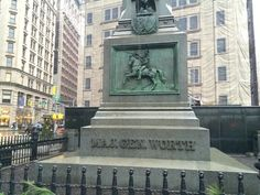 This monument to a veteran of the Mexican-American War is one of only two in Manhattan that serve as an actual mausoleum