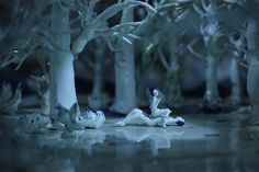 Geng xue,  mr sea, porcelain cartoon,Chinese fairy tale