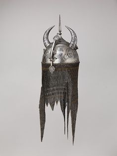 Helmet, about 1700, North Indian