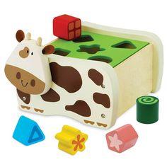 Im Toy-Baby Toys-Cow Geo Shape Sorter