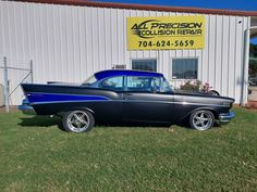 #1957Chevy Repaired and paint by #AllPrecisionCollisionRepair